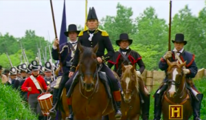 "Frame grab of Andrew Jackson in ""War of 1812"""